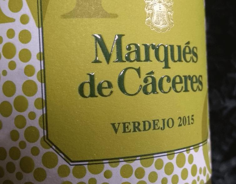 Marqués de Cáceres – Verdejo 2015