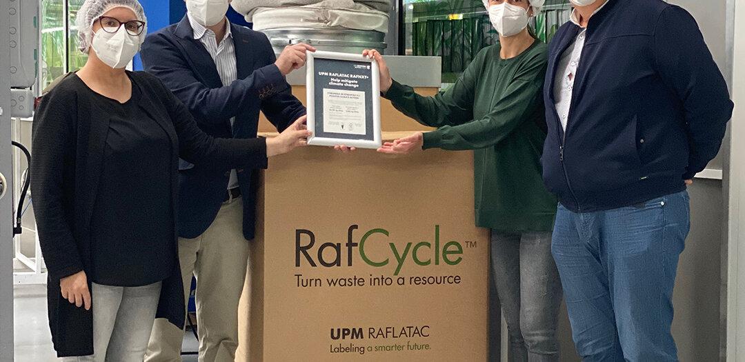 Coreti RafCycle Raflatac